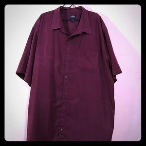 Harbor Bay Big & Tall Casual Button Down Shirt